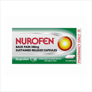 Nurofen Back Pain Sustained Release Capsules 300mg