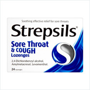 strepsils sore and cough